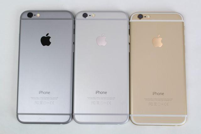 Какие цвета есть айфона 6